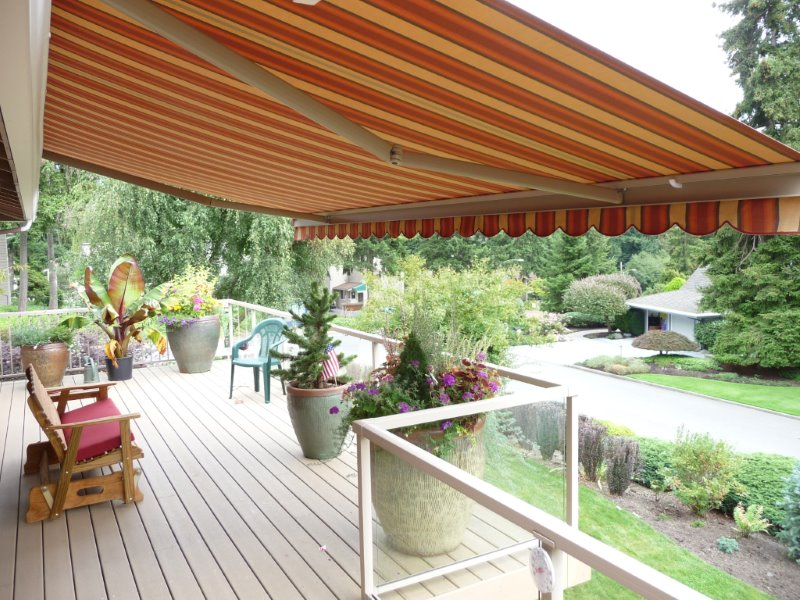 lateral-arm & Sun Protection Awnings Bellevue WA | Seattle Storefront Awnings ...