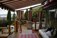 Warm and inviting patio coverings