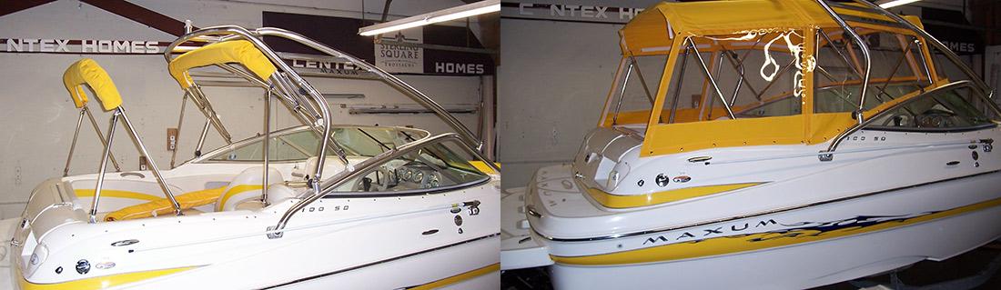 Custom boat covers & Custom Canvas Boat u0026 Tonneau Covers Bellevue WA | Eastside Tent ...