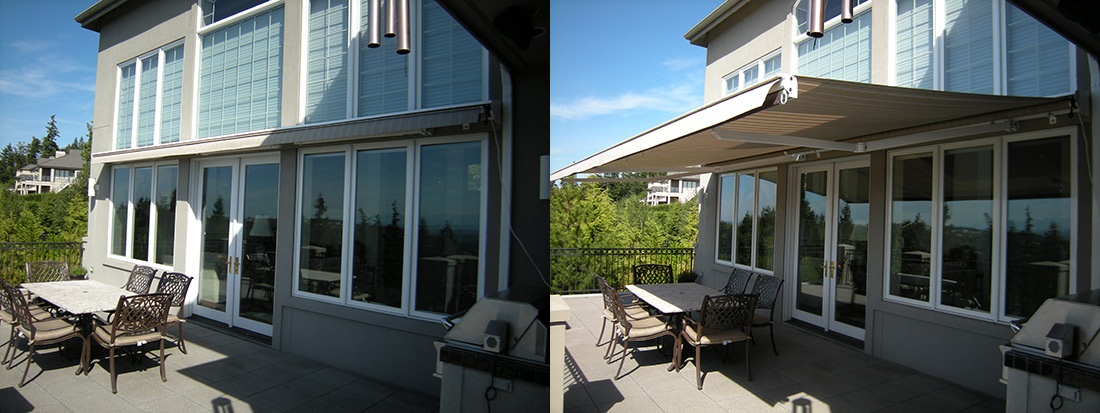 Patio Covers Retractable Awnings Bellevue WA