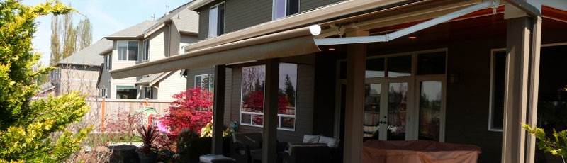 Residential solar shades